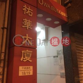 祐華大廈,上環, 香港島