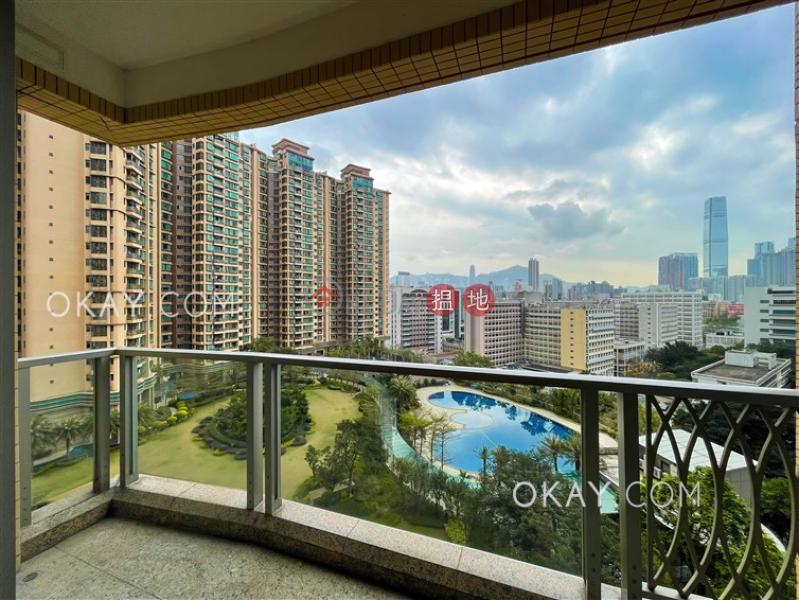 3房2廁,連車位,露台君頤峰8座出租單位 18衛理道   油尖旺香港 出租 HK$ 60,000/ 月