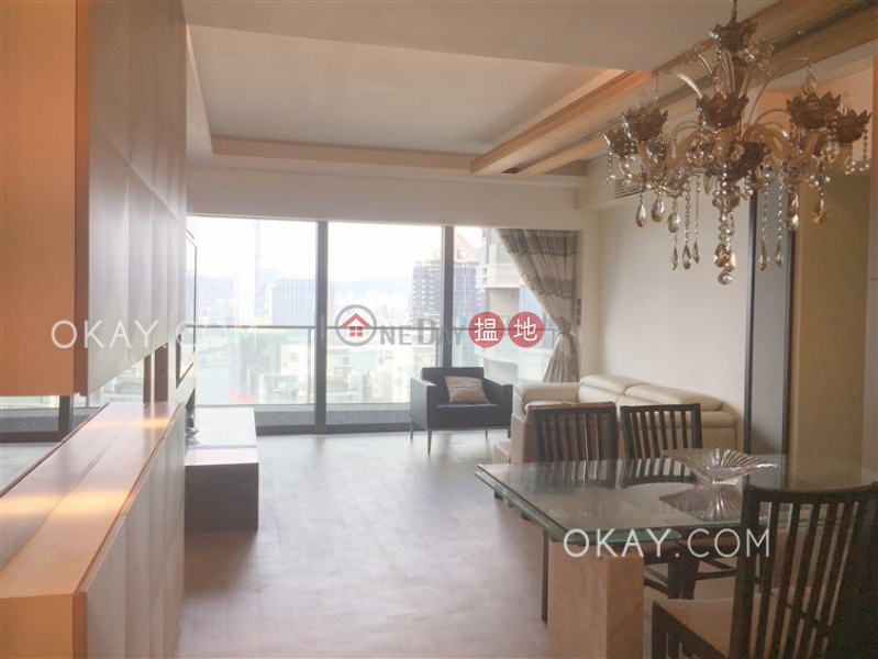 Gorgeous 3 bed on high floor with sea views & balcony | Rental | Azura 蔚然 Rental Listings
