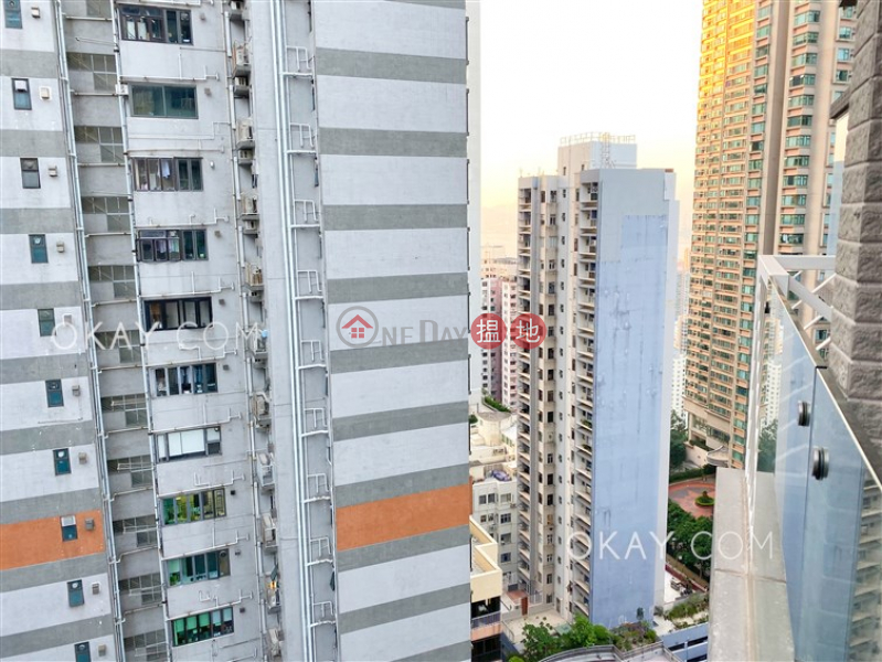 HK$ 16M | The Icon Western District, Nicely kept 2 bedroom with balcony | For Sale
