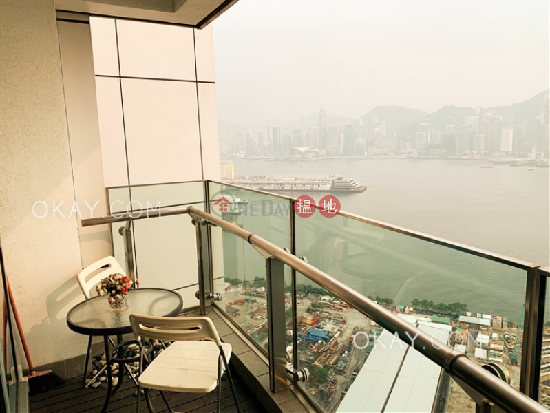 HK$ 55M, The Harbourside Tower 3 Yau Tsim Mong Rare 3 bedroom with balcony | For Sale