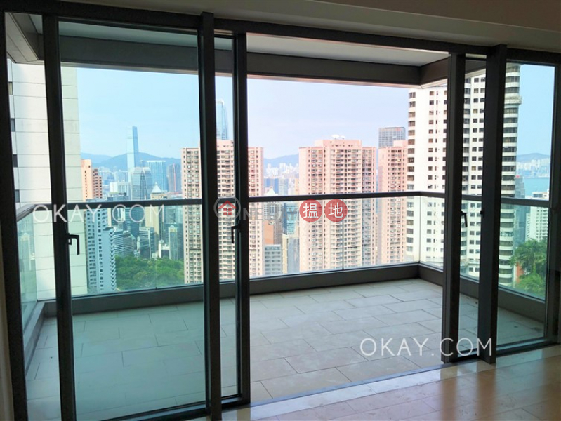 Luxurious 3 bedroom with harbour views, balcony | Rental | Branksome Grande 蘭心閣 Rental Listings