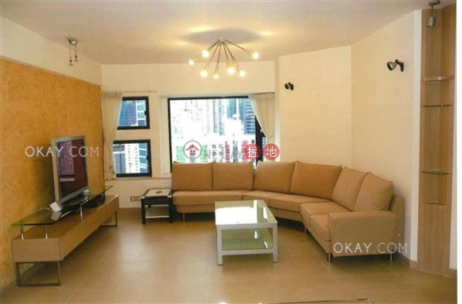 Lovely 3 bedroom on high floor with harbour views | Rental | Park Towers Block 1 柏景臺1座 Rental Listings